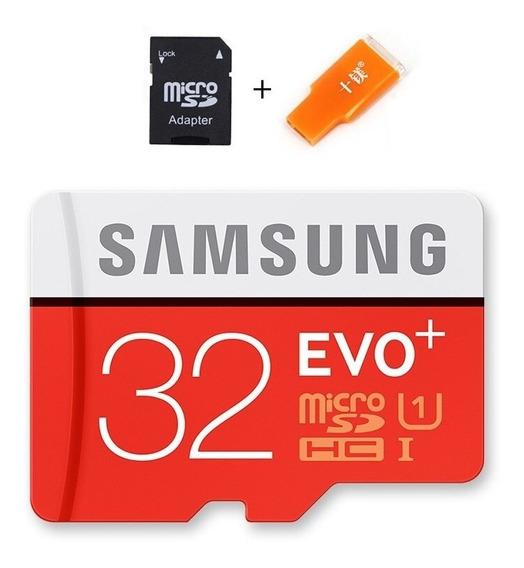 Cartão De Memória 32gb Samsung Microsd Evo+ 95mb/sclasse 10