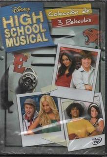 High School Musical Colección De 3 Películas - Disney Dvd