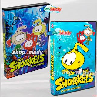 Los Snorkels La Primera Y Segunda Temporada Dvd Región 1 Y 4
