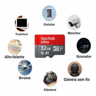 Cartão Memoria 32 Gb Micro Sd Ultra Sandisk