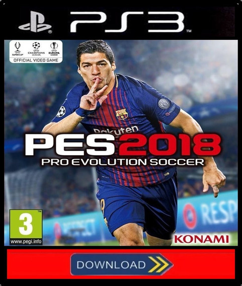 Pro Evolution Soccer 2018 Pes18 Ps3 Psn Digital Pt/ Portugal