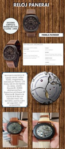 Reloj Panerai Edición Especial