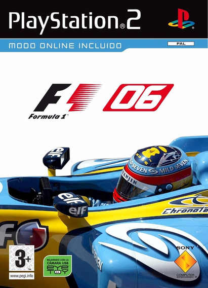 F1 Fórmula 1 Temporada 2006 Patches Ps2