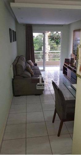 Imagem 1 de 6 de Apartamento Com 3 Dormitórios À Venda, 90 M² Por R$ 415.000 - Nova Aliança - Ribeirão Preto/sp - Ap4267