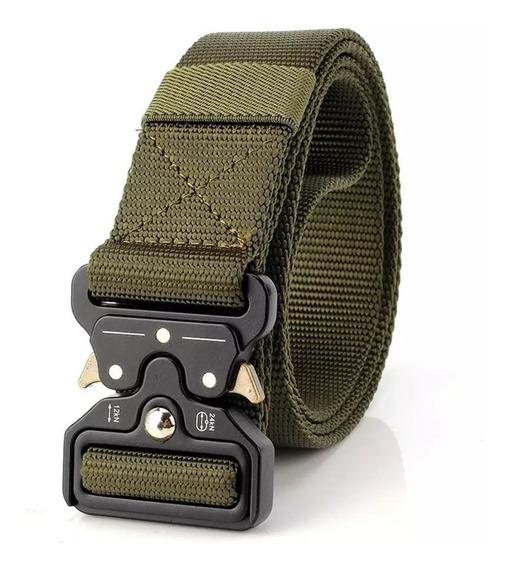 Cinturón Tactico Militar Tallas 28 A 48 Unisex
