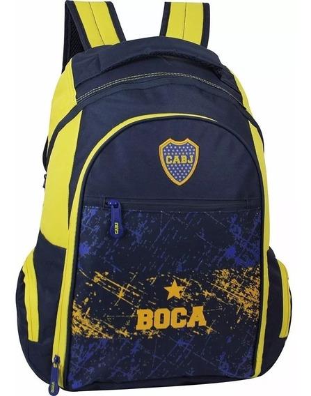 Mochila Boca Juniors 18¨ Oficial Estampas Envio Original