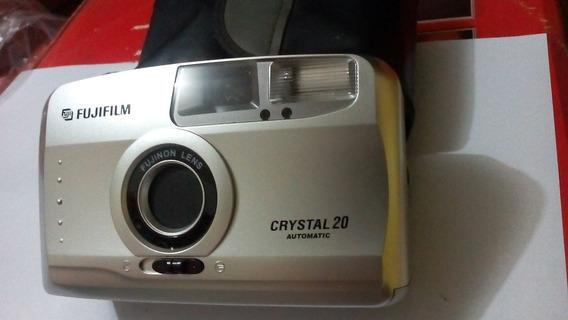 Câmera Fotográfica Fuji Cristal 20 Automatic Ótimo Estado!!