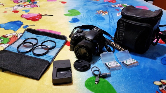 Câmera Digital Sony Dsc Hx400v E Acessórios
