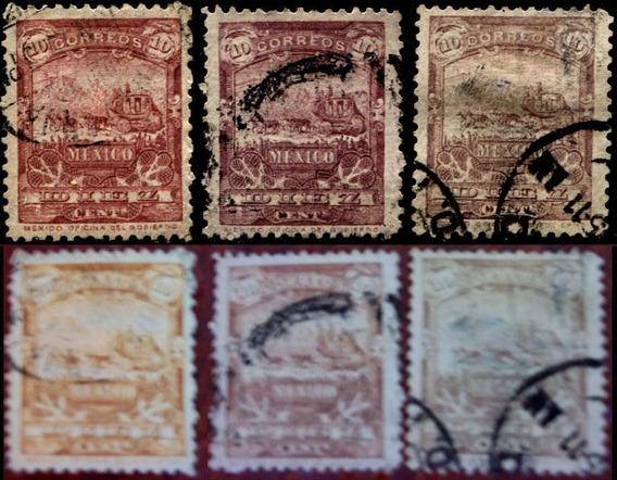 0516 Mulitas Diferentes Colores Luz U V 3 S Usados 1895