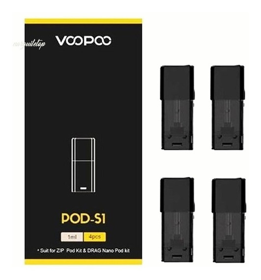 Refil Resistência Atomizador Voopoo Drag Nano Pod - S1 - 1cx Com 4und
