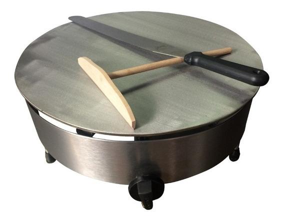 Crepera De 40 Cm A Gas | Carrito De Crepas