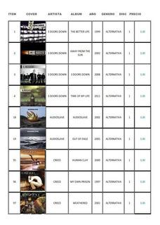 Cd De Música Importados Varios Géneros Según Listado