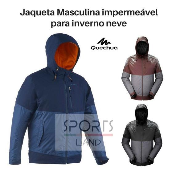 Jaqueta Masculina De Trilha Para Inverno E Neve Impermeável