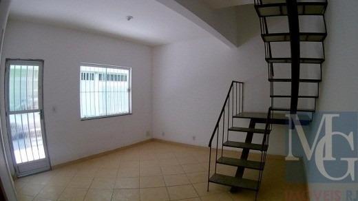 Casa Duplex Em Condomínio Próximo Ao Centro De Duque De Caxias E Ao Calçadão - Ca00032 - 4913150