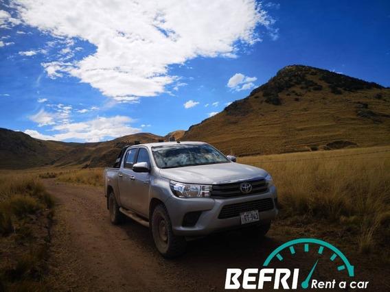 Alquiler De Camionetas Toyota Hilux Y Toyota Fortuner