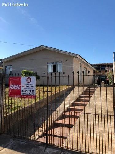 Casa Para Venda Em Araucária, Iguaçu, 3 Dormitórios, 1 Banheiro, 3 Vagas - Ca0234_2-772603