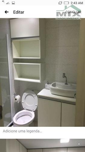 Apartamento Padrão Mobiliado Em Conceição  -  Diadema - 3284