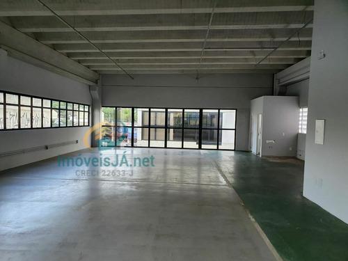 Imagem 1 de 16 de Pavilhão/galpão Salão Comercial Para Alugar Em Cajamar/sp - 924