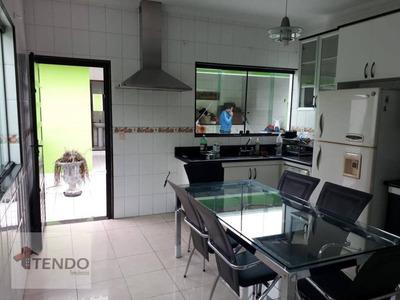 Casa Térrea 298 M2 - 3 Dormitórios - Jd. Santo Ignácio - São Bernardo Do Campo. - Ca0023