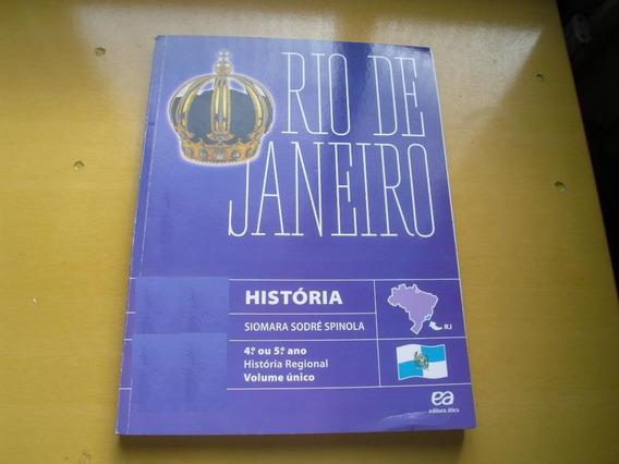 Rio De Janeiro Historia Regional Volume Unico Editora Atica