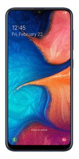 Celular Libre Samsung A20 Azul 32 Gb
