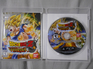 Dragon Ball Z Ultimate Tenkaichi Ps3 Con Manual Fisico Juego