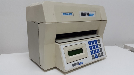 Membrana Impressora De Cheque Schalter Elgin
