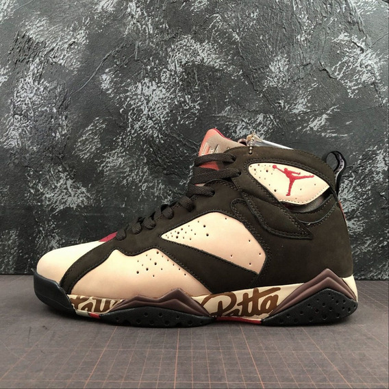 Tenis Air Jordan 7 Patta Original
