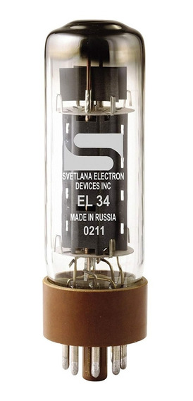 Valvula Eletro Harmonix Svetlana El34 Amplificador Guitarra