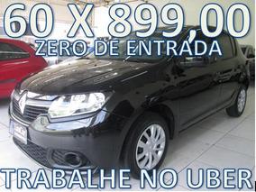 Renault Sandero Completo Zero De Entrada + 60 X 899,00 Fixas