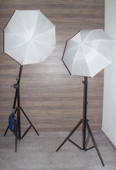 Iluminação Estúdio Kit Tripé E Tocha