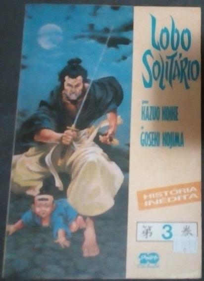 Revista Lobo Solitário Fronteira Da Morte - Kazuo Koike Nº 3