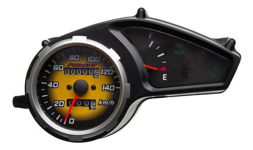 Imagem 1 de 9 de Painel Da Moto Bros 150 Do Ano 2009 (amarelo) Marca Condor
