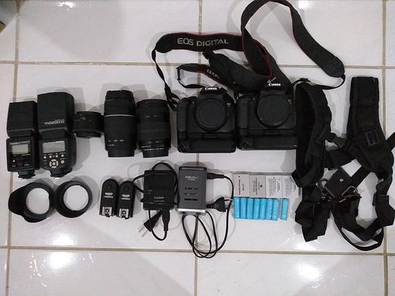 Câmera Canon T4i Mais Acessórios