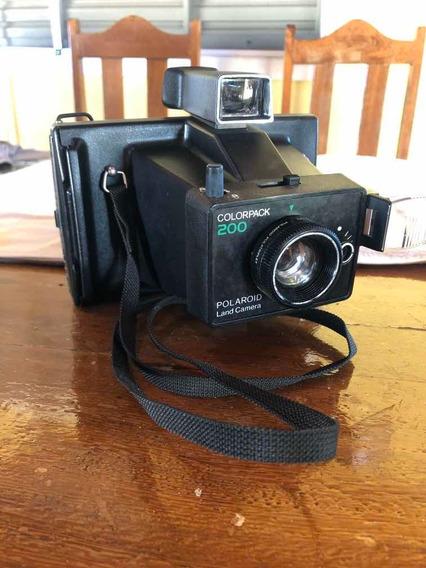 Maquina Fotográfica Polaroid Colorpack 200
