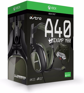 Auriculares Astro Gaming A40 Tr - Negro / Aceituna