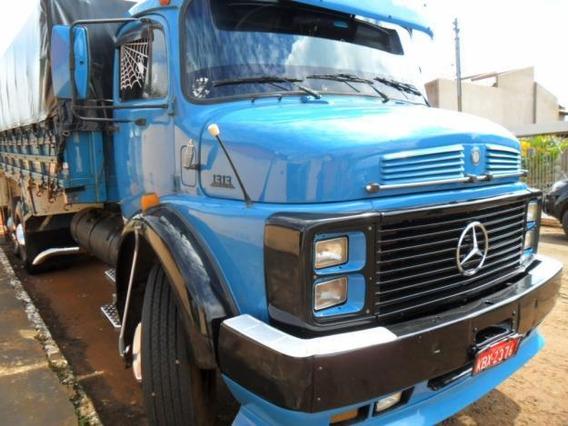 Mb 1313 1977 Truck, Turbo, Reduzido, Graneleiro, Facilito Pg