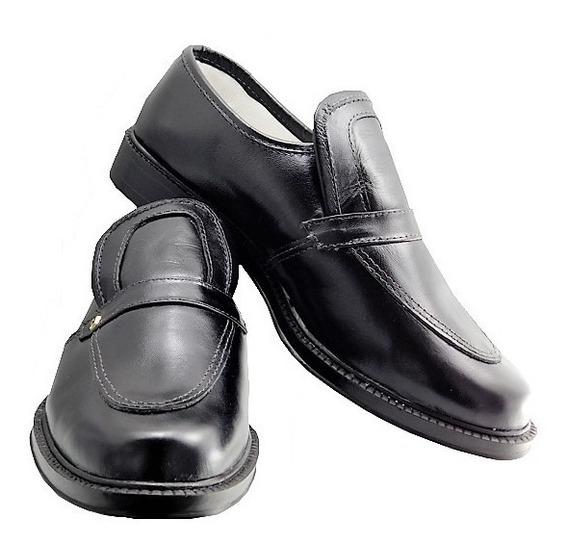 Sapato Social Masculino Couro Legítimo / Trabalho Dia A Dia