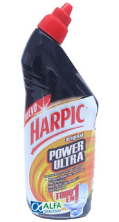Harpic Power Ultra Limpiador Desinfectante Inodoro 750 Ml