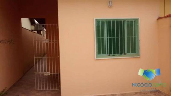 Casa Com 2 Dormitórios Para Alugar, 90 M² Por R$ 350/dia - Jardim Ritamar - Itanhaém/sp - Ca0469