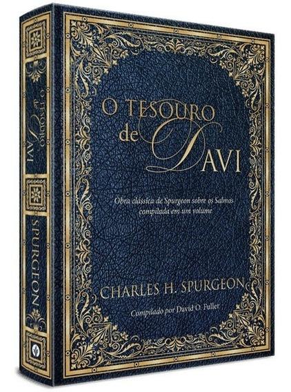 Livro O Tesouro De Davi - Charles Spurgeon Obra Clássica
