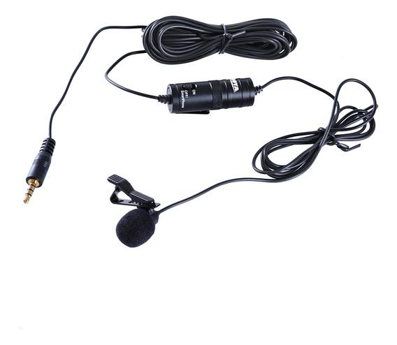 Boya By-m1 Microfone De Lapela Omnidirecional Para Canon
