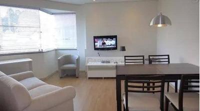 Flat Com 1 Dormitório Para Alugar, 36 M² Por R$ 3.000/mês - Morumbi - São Paulo/sp - Fl4646