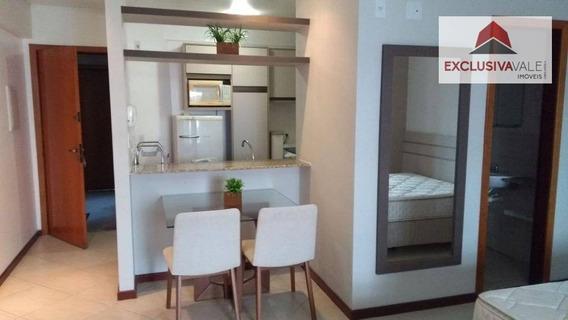 Flat Com 1 Dormitório Para Alugar, 40 M² Por R$ 1.700,00/mês - Jardim Aquarius - São José Dos Campos/sp - Fl0007