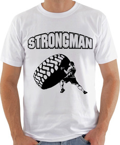 Camiseta Infantil Masculina Feminina Strongman Super 1041
