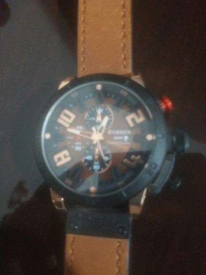 Kit 2 Relógios De Luxo Curren Originais Lindos