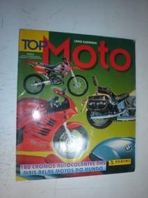 Album Figurinhas Top Motos Completo Panini Custom Naked