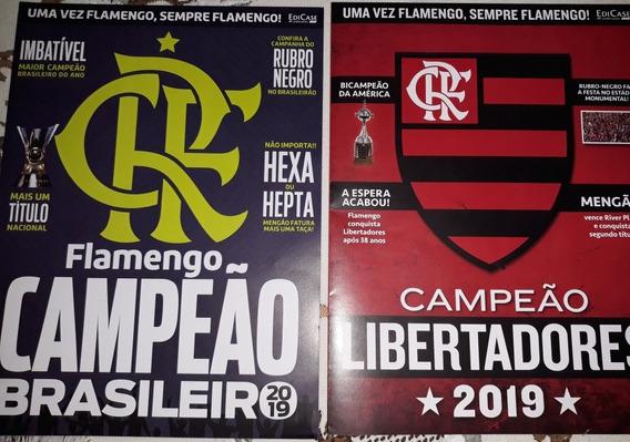 Revistas Poster Flamengo-campeão Brasileiro-libertadores 19