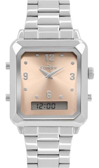 Relógio Condor Top Fashion Prata Cobj3718ac/4m Lindooo!