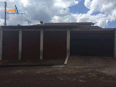 Casa Residencial Para Venda E Locação, São Sebastião, Anápolis - Ca1027. - Ca1027